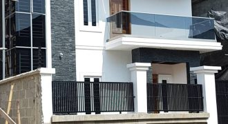 A luxury and newly built detached duplex for sale at Chevyview estate by Chevron-Drive in Lekki