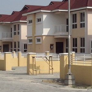 Duplex For Sale At Cadogan Estate Located Behind Jakande Shoprite Lekki.