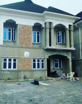 4 Bedrooms Semi Detached Duplex For Sale In Oral Estate Ikota